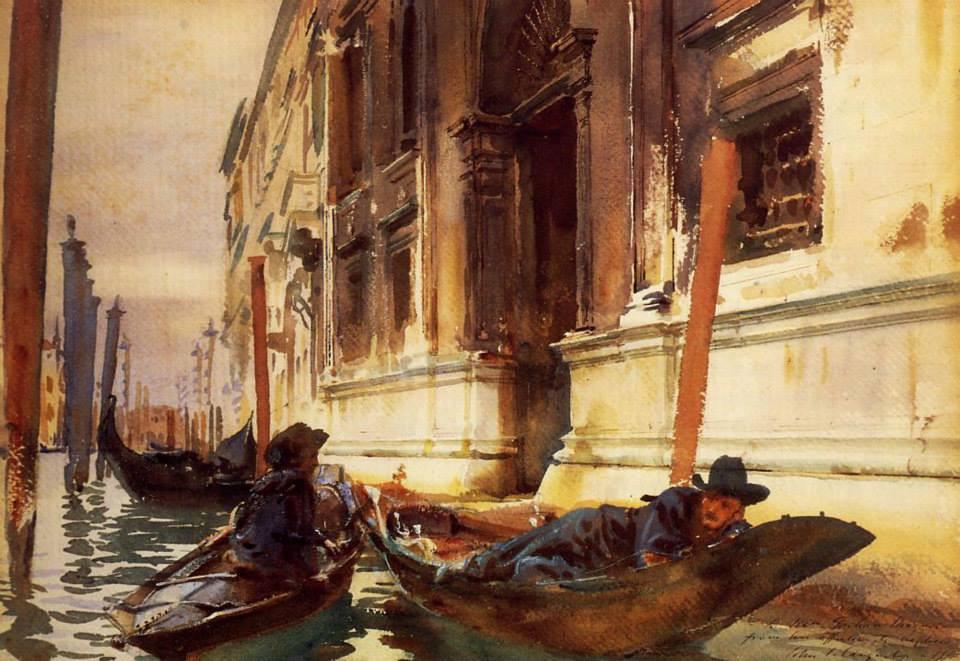 Gondelier's Siesta, 1905
